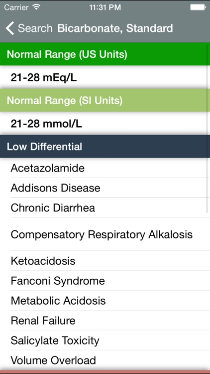 Normal Lab Values++ screenshot-3