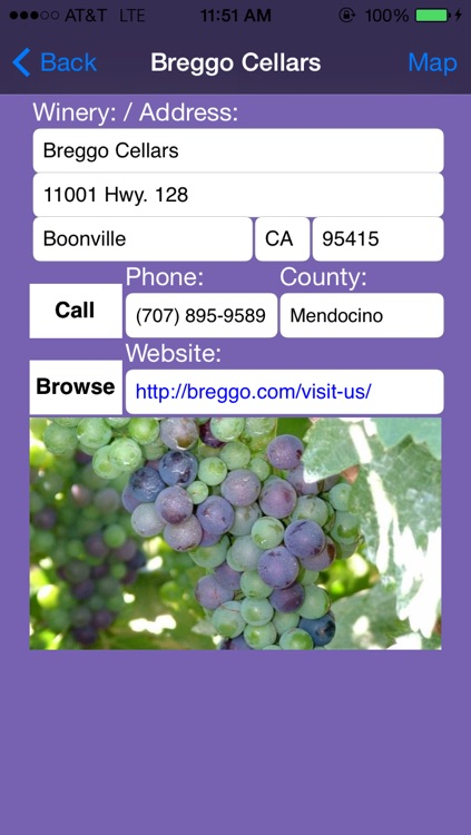 Mendocino and Lake County Winery Finder screenshot-3