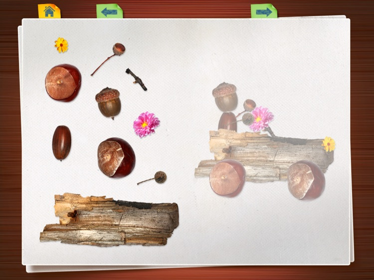 Montessori Preschool Scrapbook Puzzle 123 Kids Fun screenshot-0