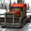 雪のトラックラリー