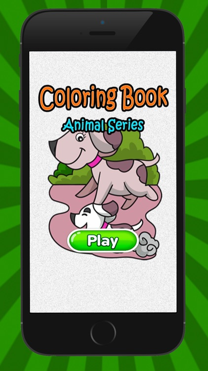 Cat & Dog Coloring Book for Kid Games