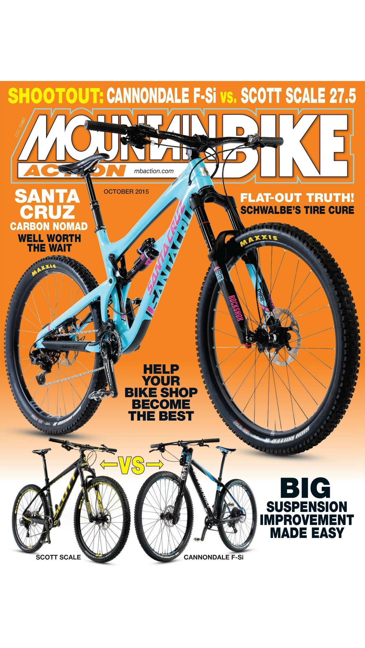 Mountain Bike Action Magazine Screenshot