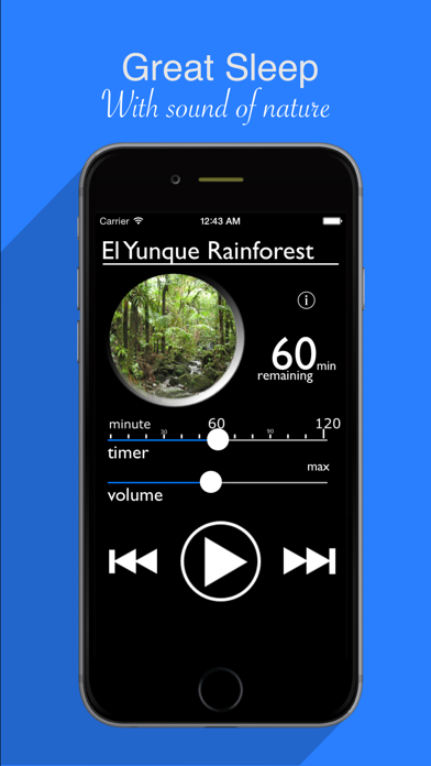 White Noise : Sleep Maker Relaxing Rainforest Therapy screenshot two