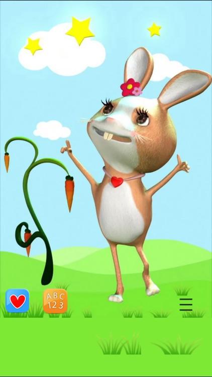 Talking Rabbit ABC Song screenshot-0