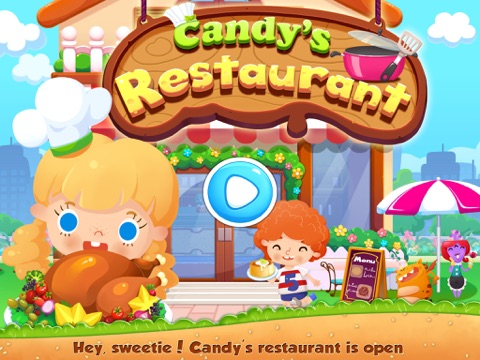 Candy's Restaurant - Kids Educational Games на iPad