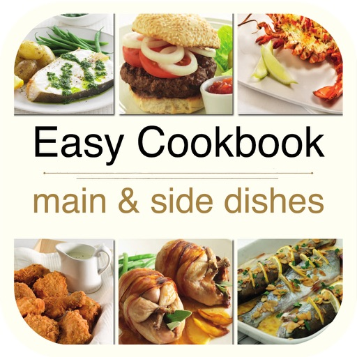 Easy Cookbook - Main and Side Dishes for iPad