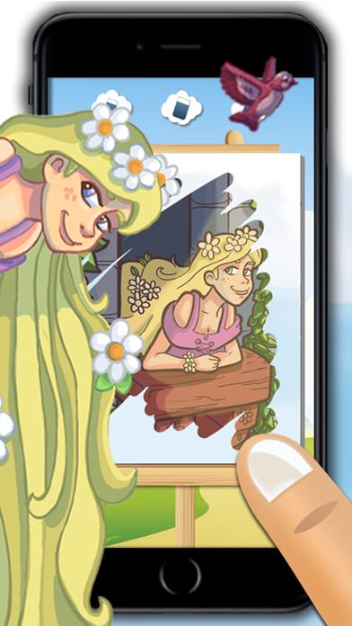 点击获取Rapunzel - fun princess mini games for girls