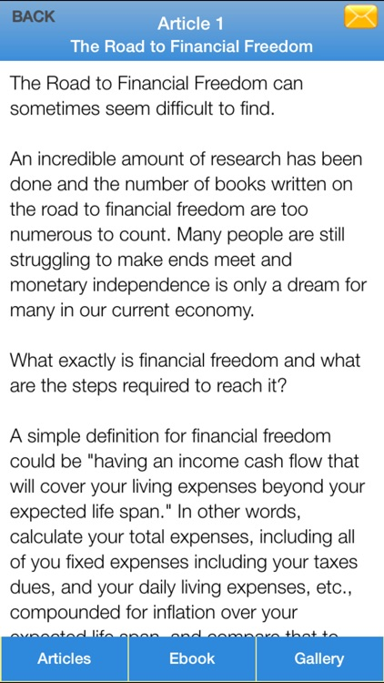 Financial Freedom Guide - Have a Freedom Life With Financial Freedom Guide screenshot-4
