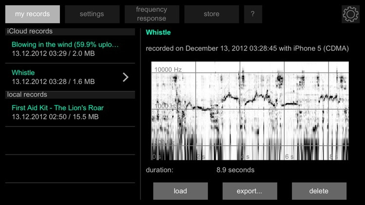 Spectrograph screenshot-4
