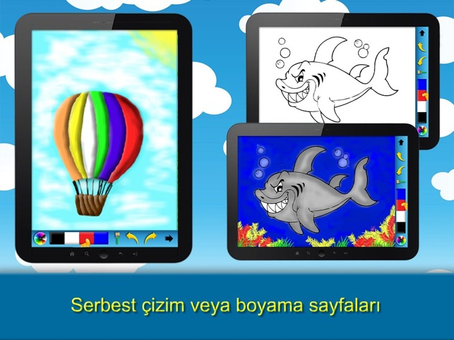 Cocuklar Icin Cizim Boyama Sayfalari App Store Da