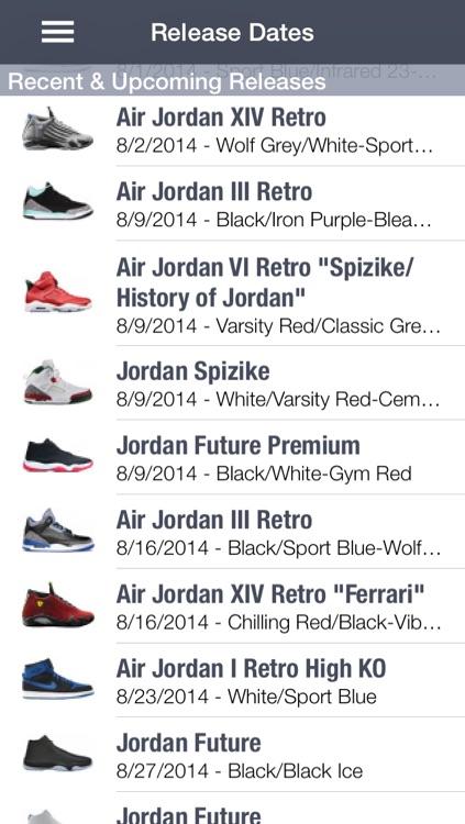 SPG Lite: Sneaker Release Dates