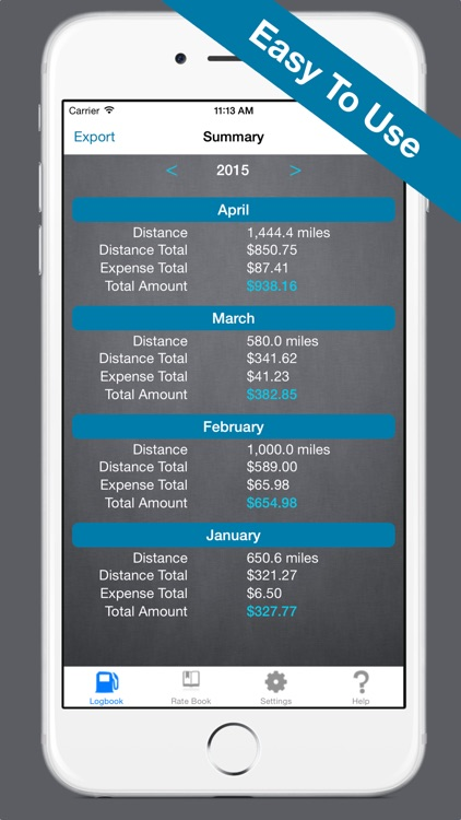Mileage Expense Log 7 - Miles Tracker for Business, Tax, and Charity Deductions