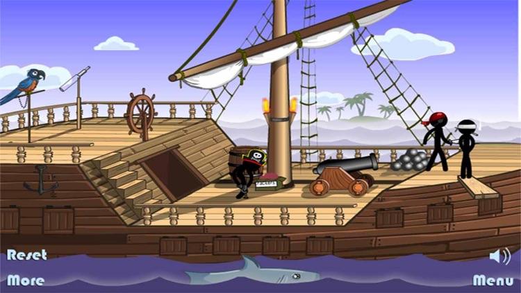 Pirate Ship Death - Stickman Edition
