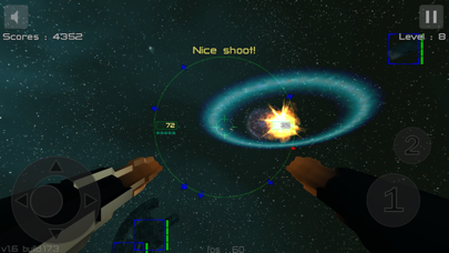 Gunner : Free Space Defender Lite screenshot three