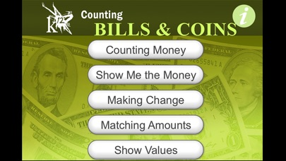 Counting Bills & Coins iPhone