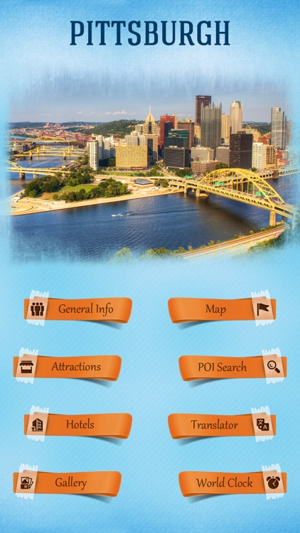Pittsburgh City Offline Travel Guide