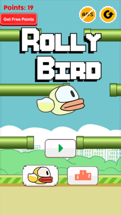 Rolly Bird - The Bird That Can't Fly screenshot-0