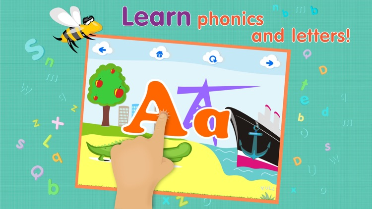 ABCs alphabet phonics games for kids based on Montessori learining approach screenshot-3