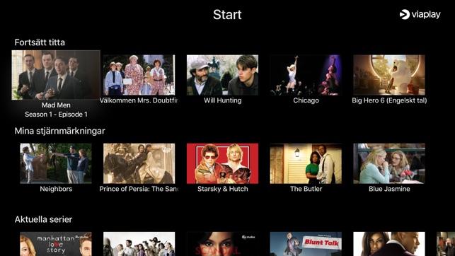 viaplay virker ikke på apple tv