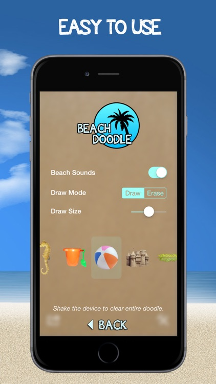 Beach Doodle - Draw In The Sand! screenshot-4