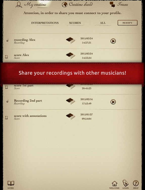 "Play Beethoven – Symphony No. 3 ""Eroica"" – I. Allegro con brio (interactive violin sheet music) screenshot-4"