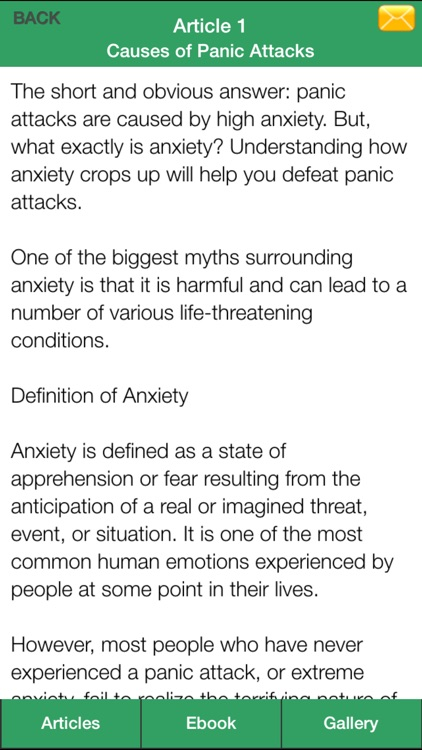 Panic Attacks Guide - Learn How to Relieve Panic Attacks Symptoms! screenshot-3