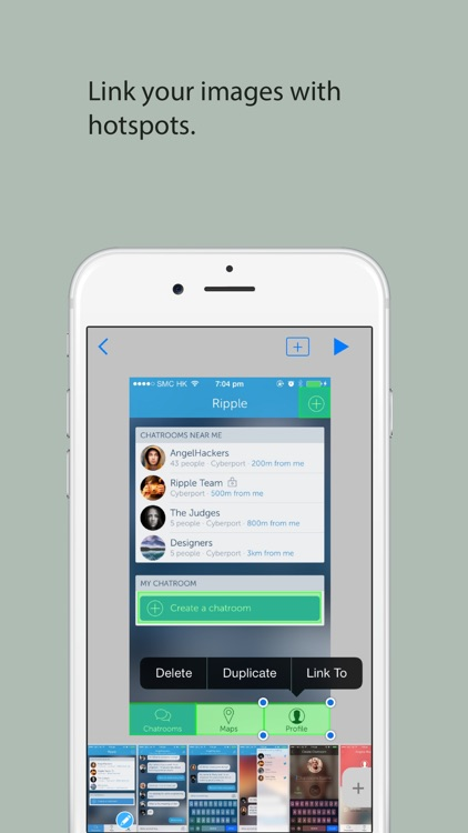 TapCase - Rapid prototyping for apps