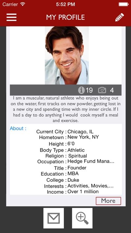 MEGAN: Dating lounge