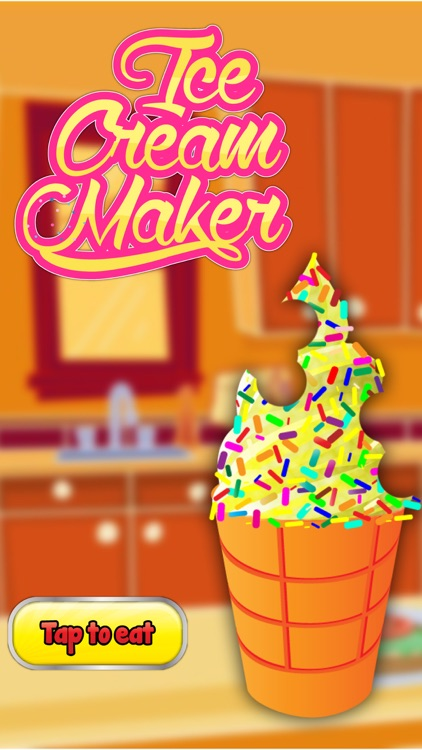 Ice Cream Maker - Frozen ice cone parlour & crazy chef adventure game screenshot-4