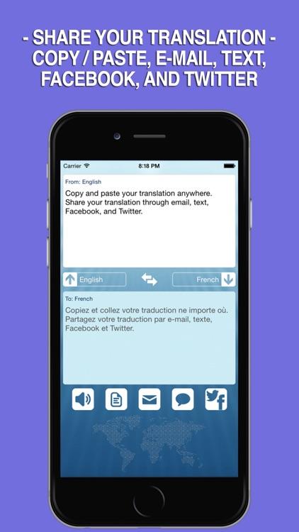 iTranslator FREE screenshot-3