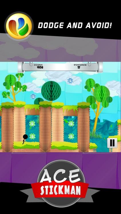 Ace Stickman Jump and Run Game