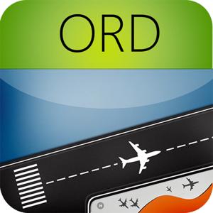 Chicago O'Hare Airport (ORD) Flight Tracker Radar app