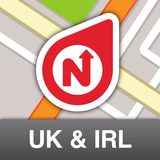 NLife UK & Ireland Premium - Offline GPS Navigation, Traffic & Maps