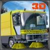 城市垃圾车模拟器3D - 驾驶垃圾车和挖掘机起重机扫路