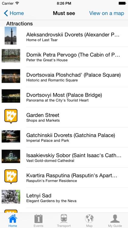 St Petersburg Travel Guide Offline screenshot-3