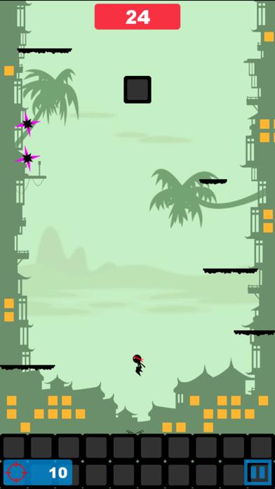 Angry Ninja - Ninja Jump screenshot one