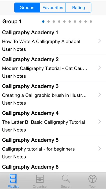 Calligraphy Academy screenshot-1