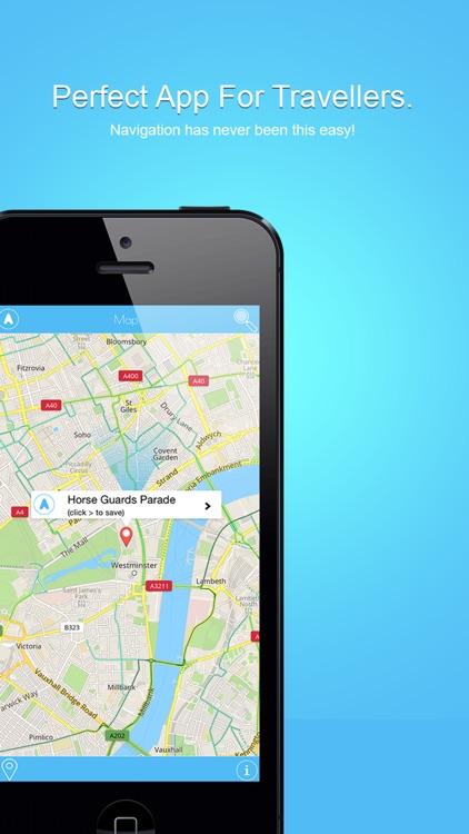 Tourist Maps - Offline Map of London City screenshot-3