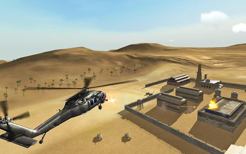 Helicopter Sim - Hellfire Squadron Screenshot