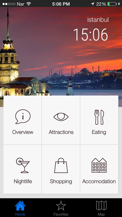 Istanbul Offline - Istanbul Cityguide For Sight Seeing, Shopping, Restaurant And Transportation With Offline Metro And Bus Maps