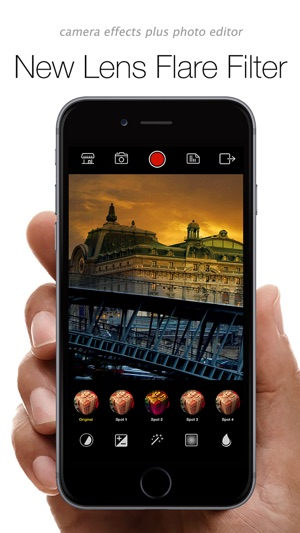 AfterCam 360 - camera effects plus photo editor filters & fx Screenshot