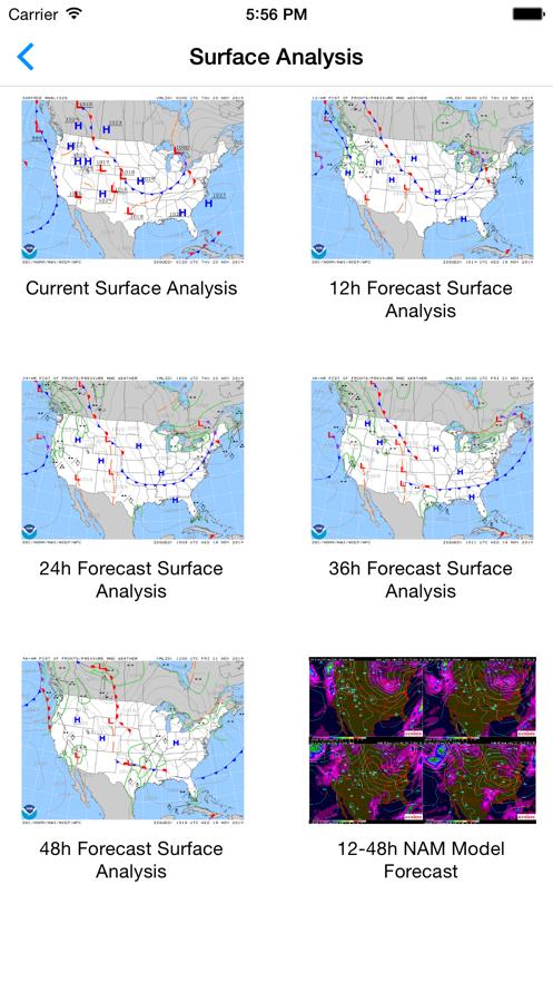Aviation Weather Graphics App 截图