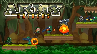 Army Raiders - War Battle of Soldiers in the Wilderness-0