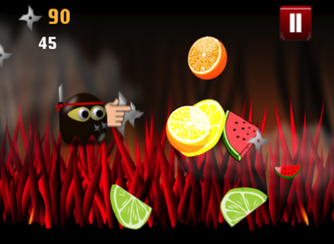 Ninja Chops It Up Game: Chopping Around The World with a Broken Sword for Eternity - Infinity Swift Mania & No Blood-ipad-2