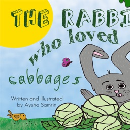 The Rabbit who loved cabbages - Interactive free eBook in English for children with puzzles and learning games by Aysha Samrin for toddlers and kindergarten children