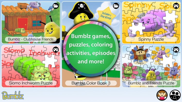 Bumblz - Animated Series and Activities for Children and Toddlers