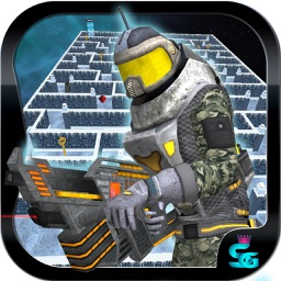 Gangstar Maze III HD : Labyrinth ( A Real Super Hero and commando ) in 3D