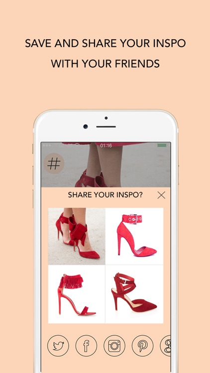 INSPO - The Style Search App. Create fashion trends with your selfie or streetstyle pics, share or shop the look screenshot-3