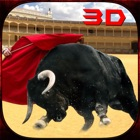 Angry Bull Fighter Simulator 3D icon