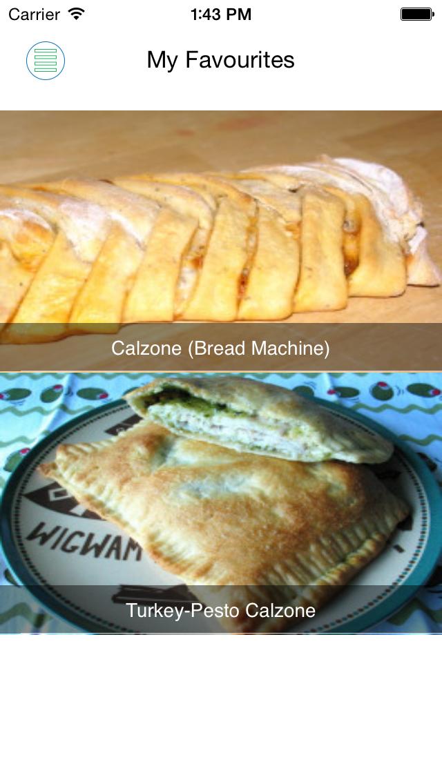 Italian recipes free screenshot four